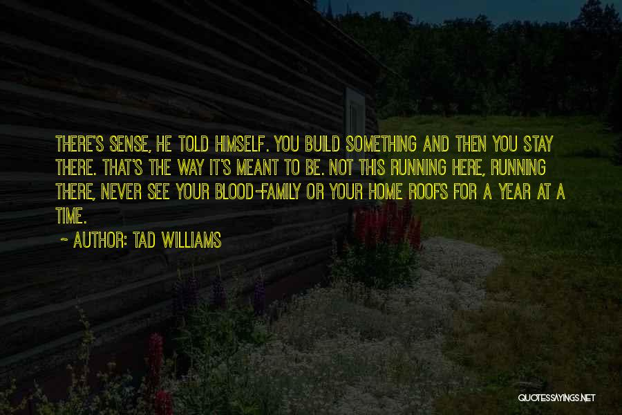Family There For You Quotes By Tad Williams