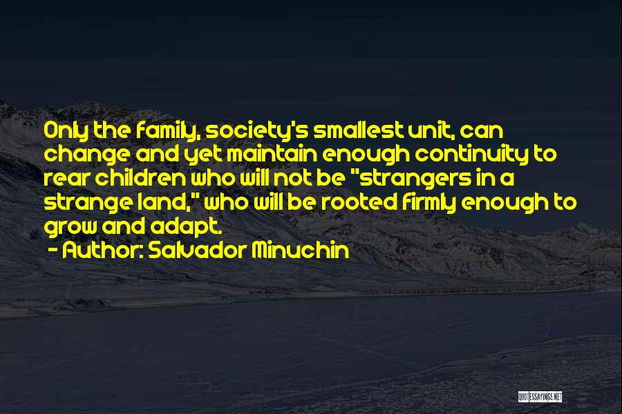 Family Unit Quotes By Salvador Minuchin