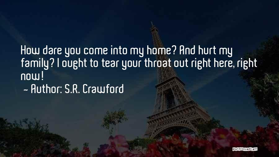 Family Who Hurt You Quotes By S.R. Crawford