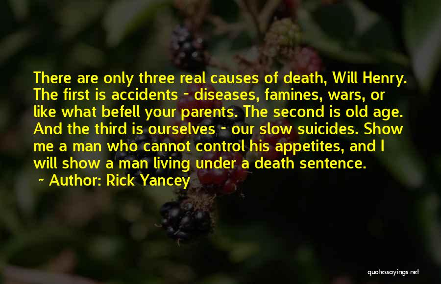 Famines Quotes By Rick Yancey