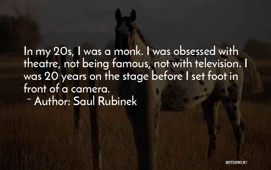Famous 20s Quotes By Saul Rubinek