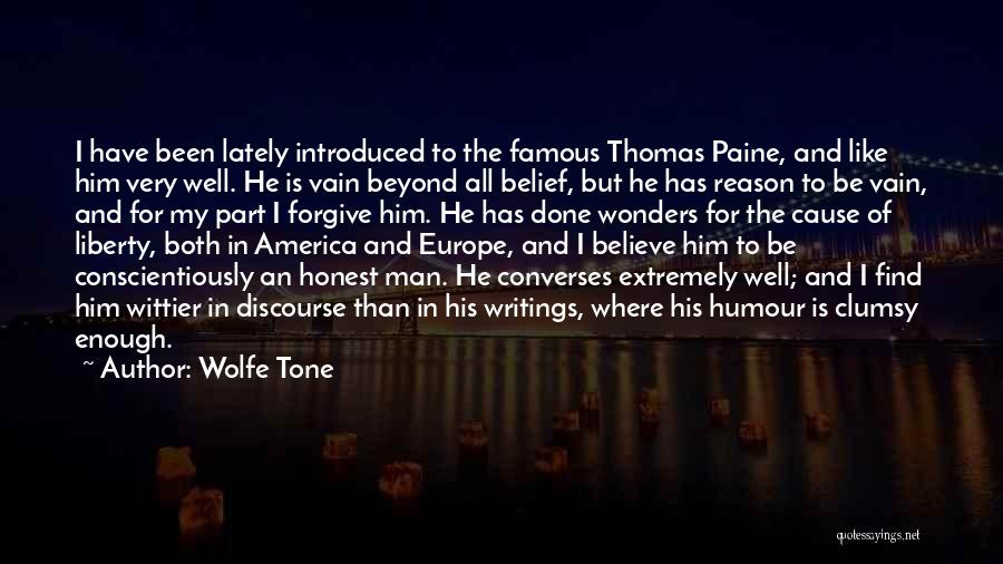 Famous Discourse Quotes By Wolfe Tone