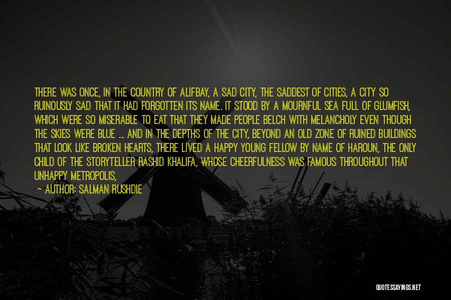 Famous Ending Quotes By Salman Rushdie