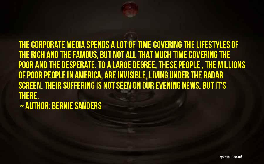Famous News Quotes By Bernie Sanders