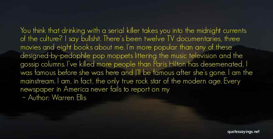 Famous Pop Culture Quotes By Warren Ellis