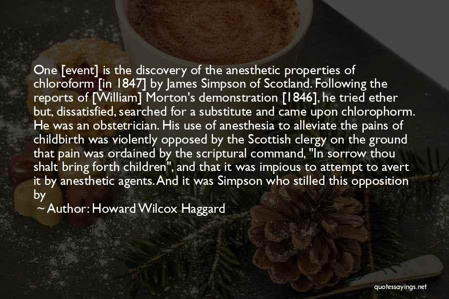 Famous Scotland Quotes By Howard Wilcox Haggard