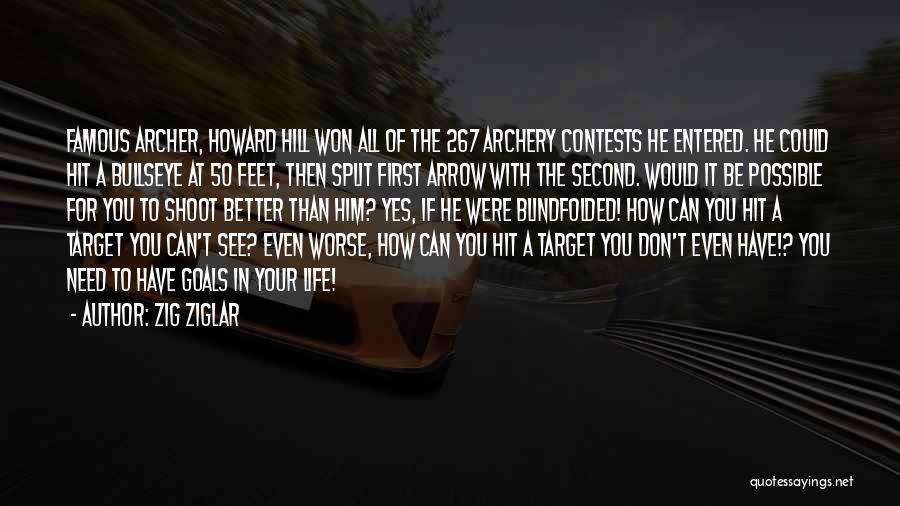 Famous Shoot Quotes By Zig Ziglar