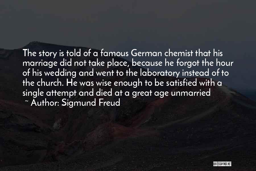 Famous Wedding Quotes By Sigmund Freud