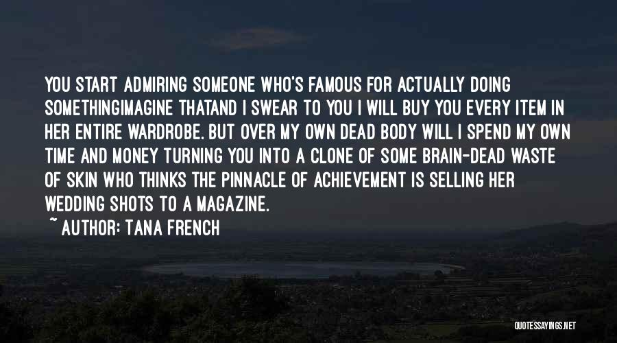 Famous Wedding Quotes By Tana French