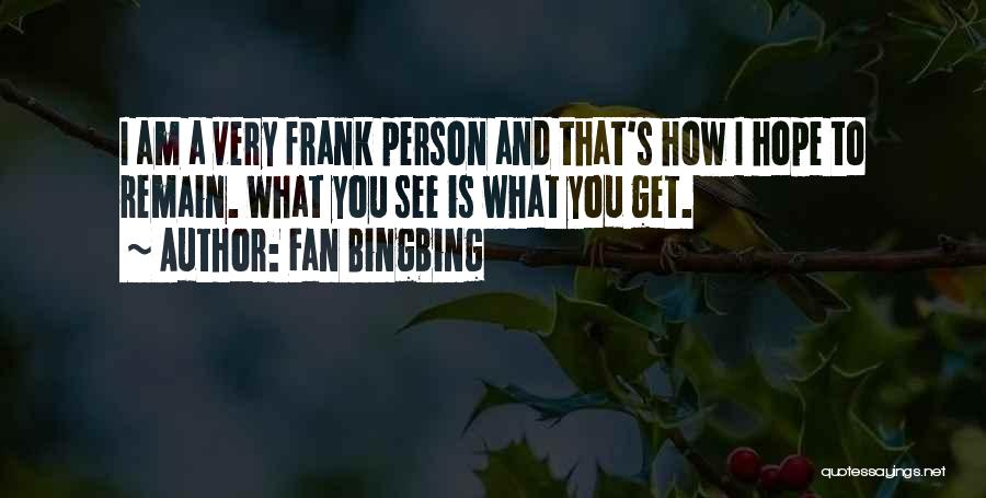 Fan Bingbing Quotes 1479291