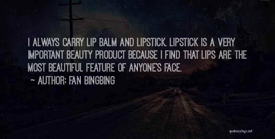 Fan Bingbing Quotes 1931321