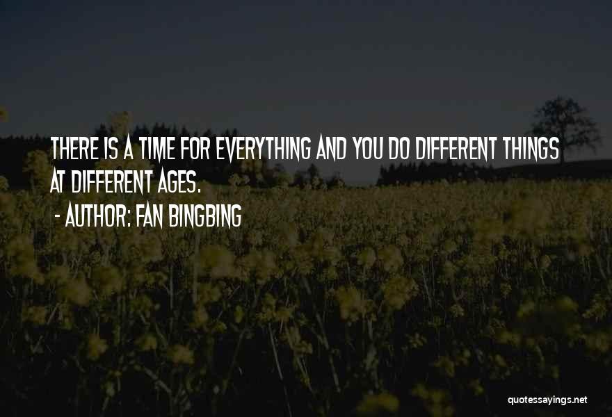 Fan Bingbing Quotes 2024951