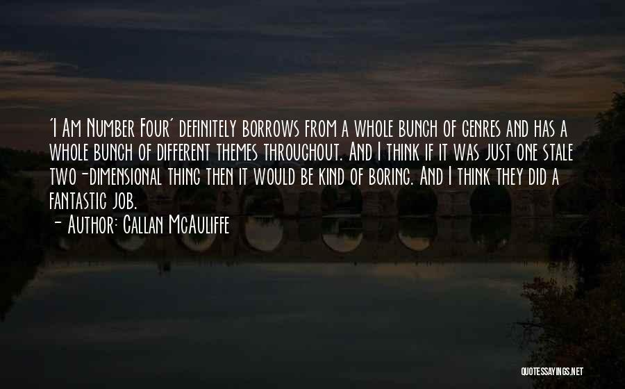 Fantastic Four Thing Quotes By Callan McAuliffe