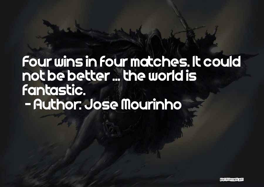 Fantastic Four Thing Quotes By Jose Mourinho
