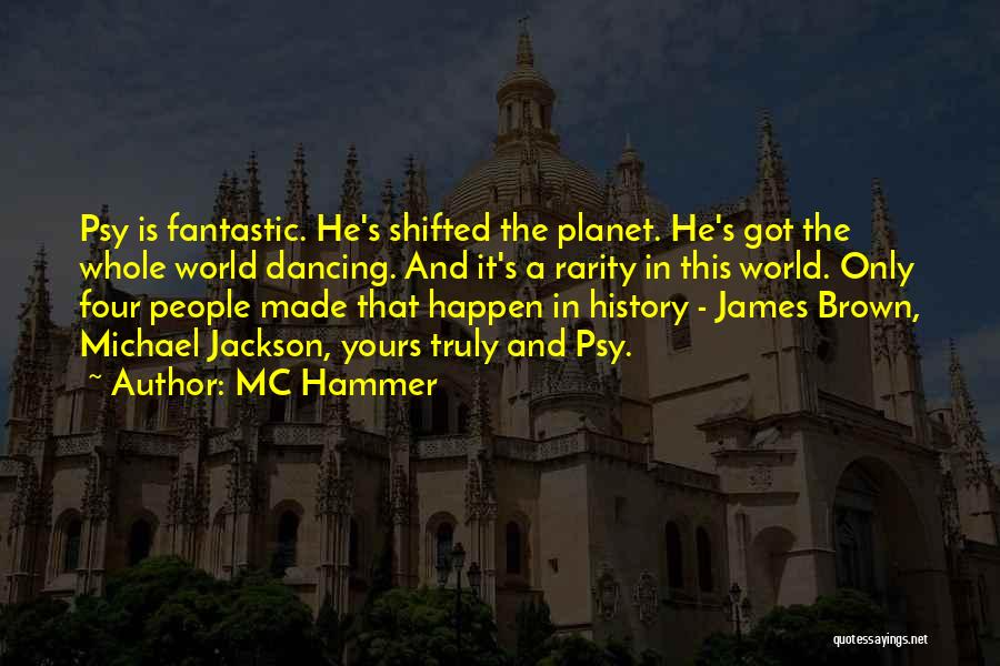 Fantastic Four Thing Quotes By MC Hammer