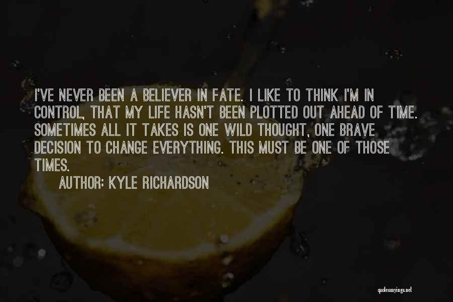 Fantasy Love Story Quotes By Kyle Richardson