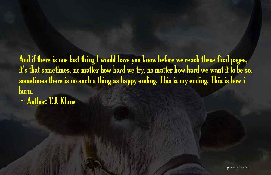 Fantasy Love Story Quotes By T.J. Klune