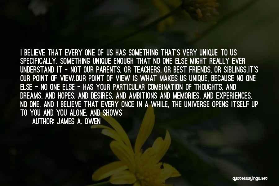 Far Best Friends Quotes By James A. Owen