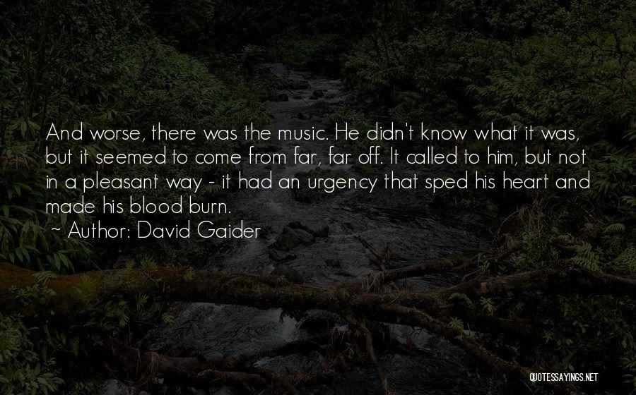 Far Off Quotes By David Gaider