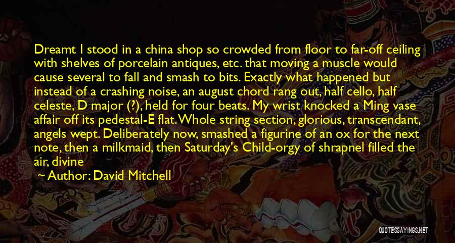 Far Off Quotes By David Mitchell