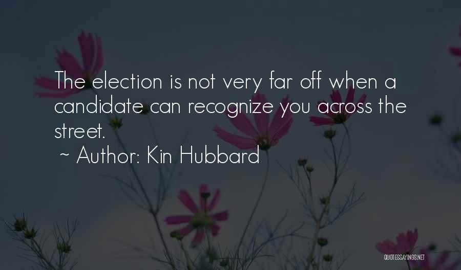 Far Off Quotes By Kin Hubbard