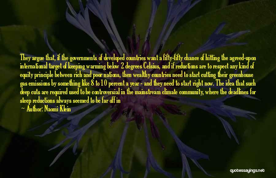 Far Off Quotes By Naomi Klein
