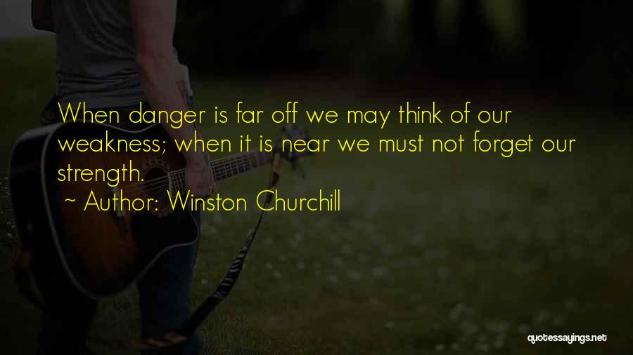 Far Off Quotes By Winston Churchill