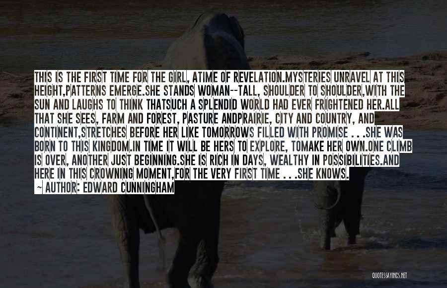 Farm Girl Quotes By Edward Cunningham