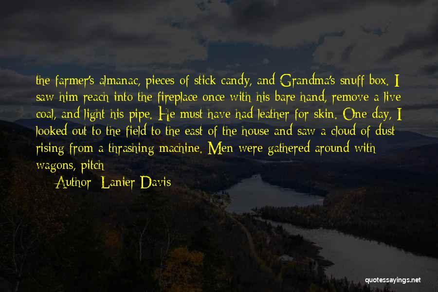 Farmer's Almanac Quotes By Lanier Davis