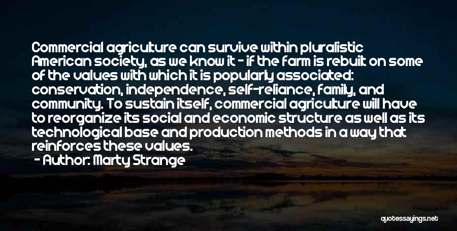 Farming And Agriculture Quotes By Marty Strange