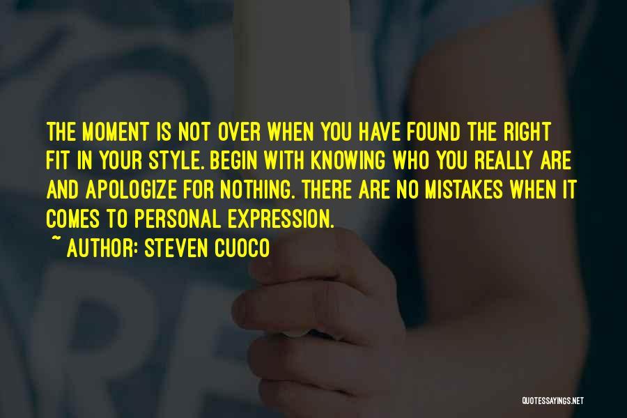 Fashion Branding Quotes By Steven Cuoco