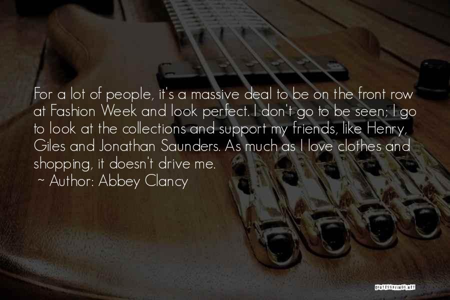 Fashion Shopping Quotes By Abbey Clancy