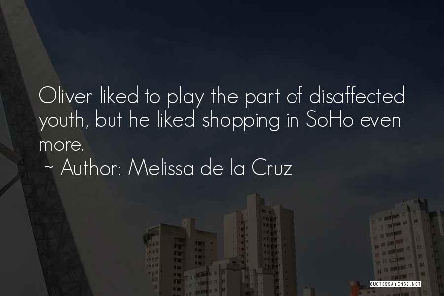 Fashion Shopping Quotes By Melissa De La Cruz