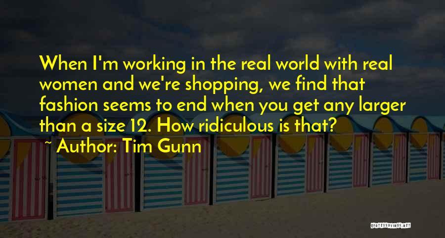 Fashion Shopping Quotes By Tim Gunn