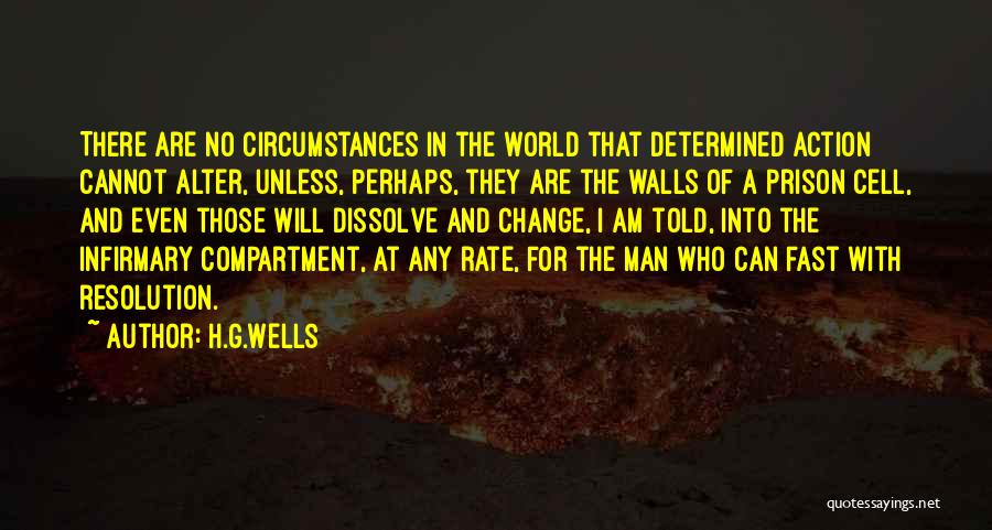 Fast Change Quotes By H.G.Wells
