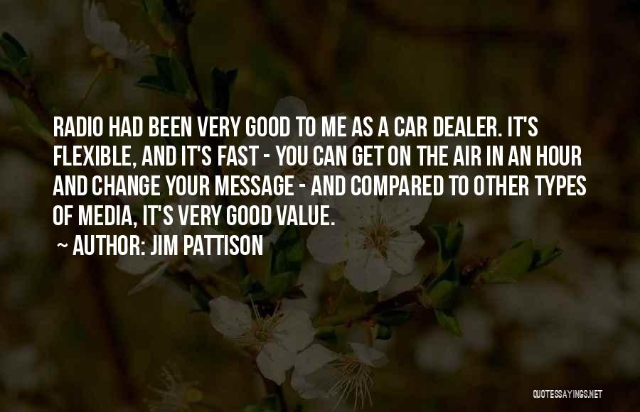 Fast Change Quotes By Jim Pattison