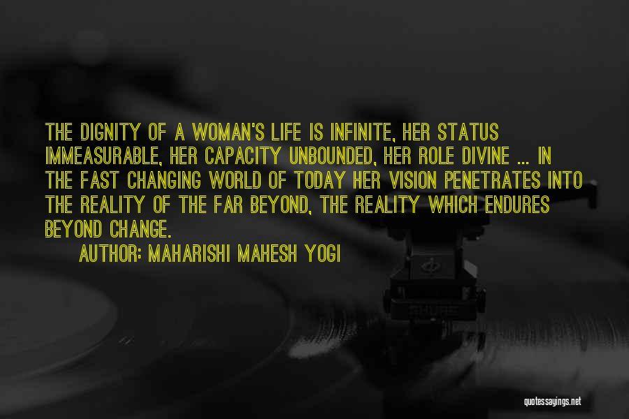 Fast Change Quotes By Maharishi Mahesh Yogi