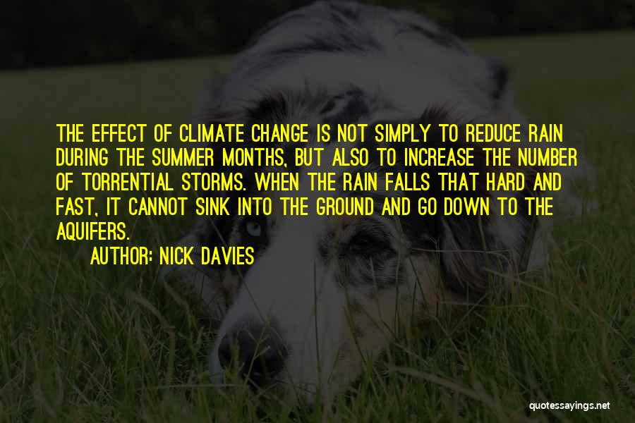 Fast Change Quotes By Nick Davies