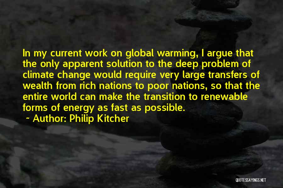 Fast Change Quotes By Philip Kitcher