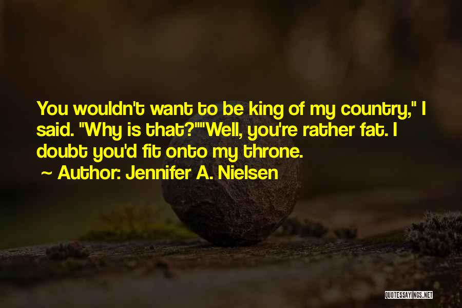 Fat Quotes By Jennifer A. Nielsen