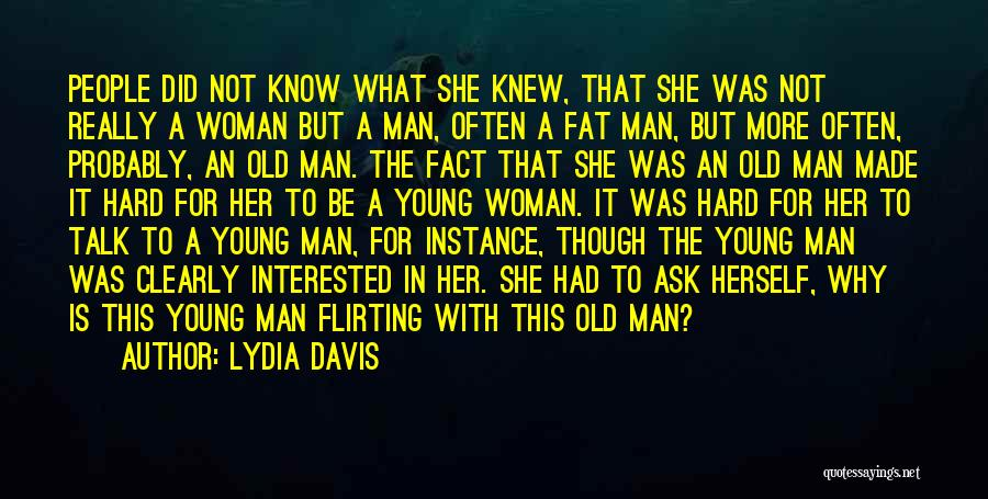 Fat Quotes By Lydia Davis
