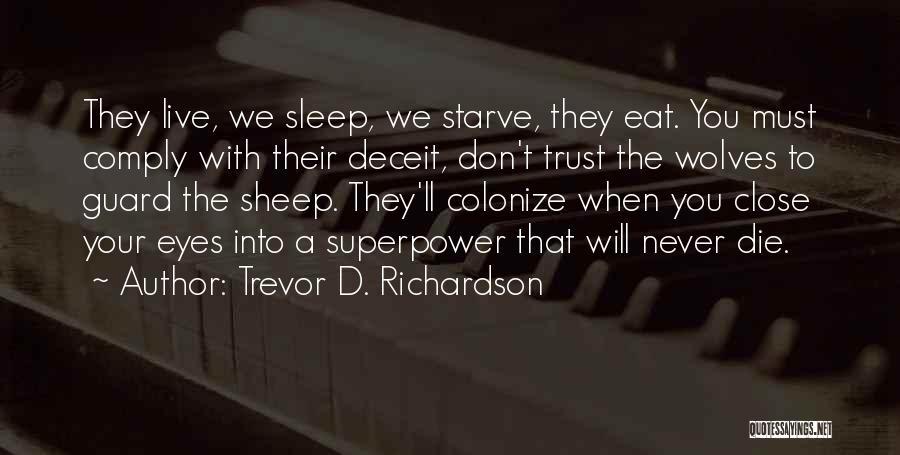 Fat Quotes By Trevor D. Richardson