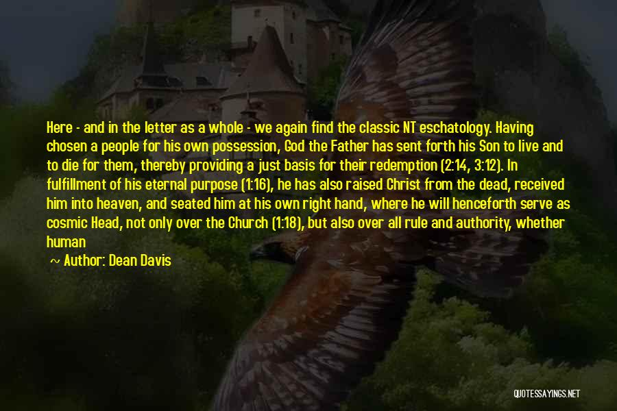 Father And Son Short Quotes By Dean Davis
