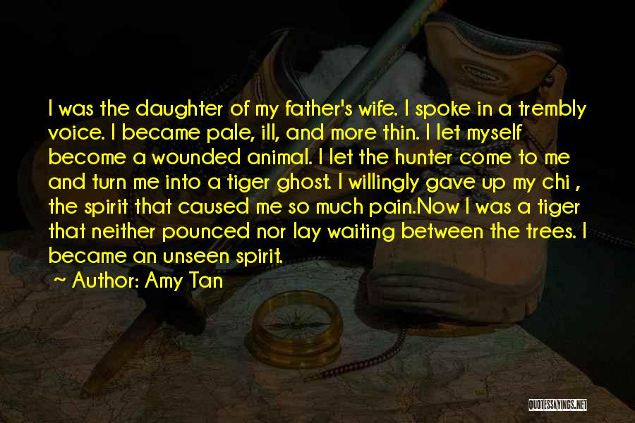 Father Daughter Quotes By Amy Tan