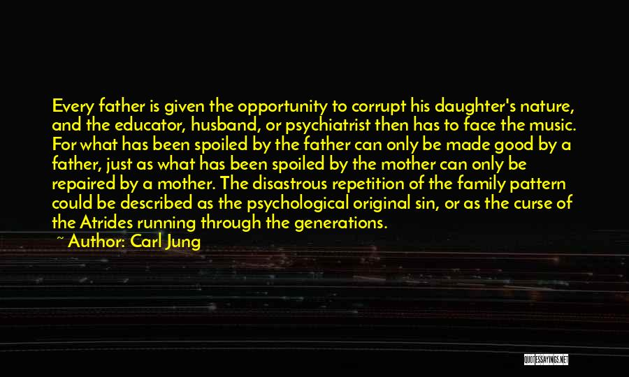 Father Daughter Quotes By Carl Jung