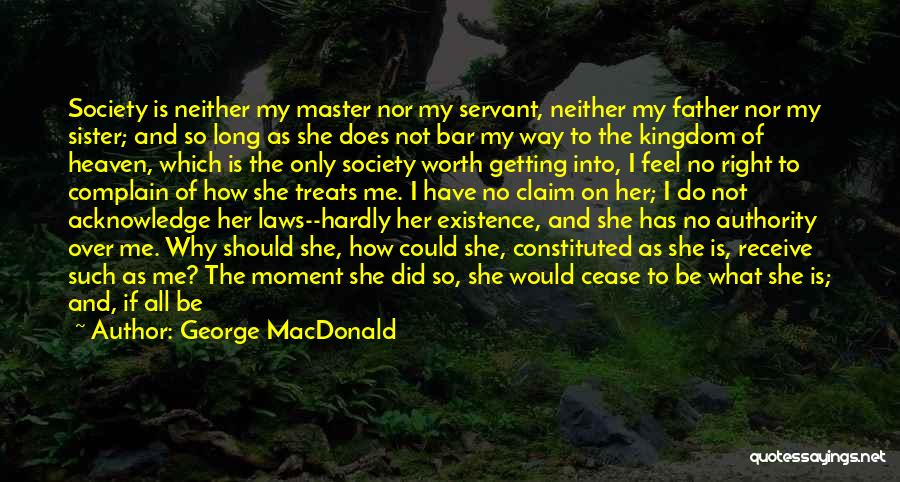 Father Daughter Quotes By George MacDonald