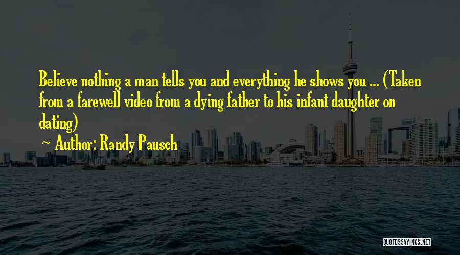 Father Daughter Quotes By Randy Pausch