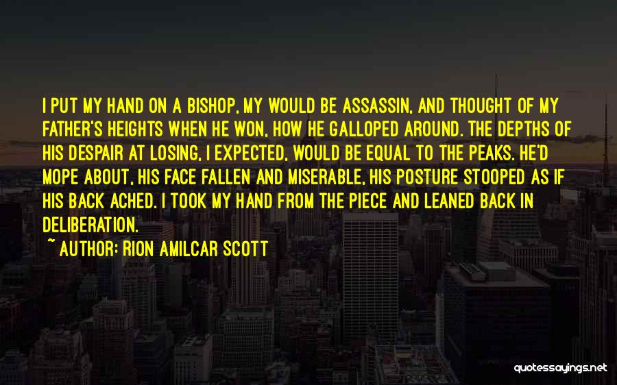 Father Daughter Quotes By Rion Amilcar Scott