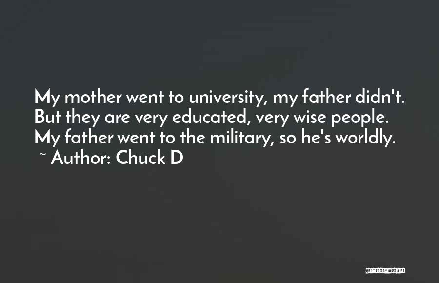 Father D'souza Quotes By Chuck D