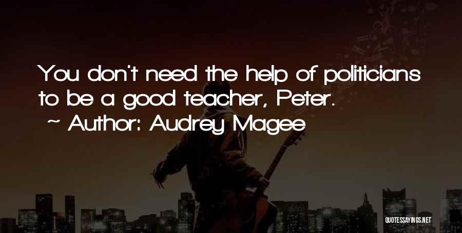 Father Faber Quotes By Audrey Magee